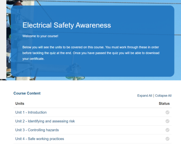 Electrical Safety Awareness Overview