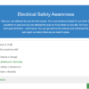 Electrical Safety Awareness Quiz Question