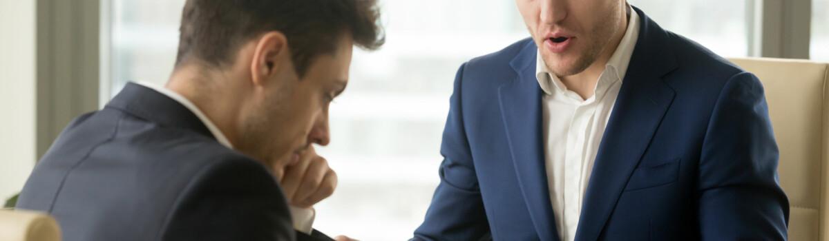 Employer dismissing employee increasing employee turnover