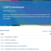 LGBTQ Awareness Course Overview