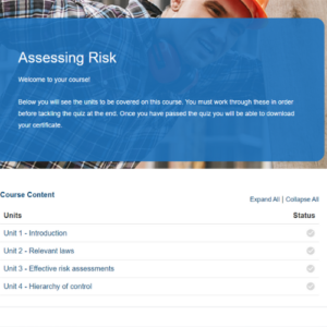 Assessing Risk Course Overview