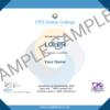LOLER CPD Certificate