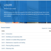 LOLER Course Overview