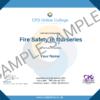 Fire Safety in Nurseries Certificate