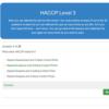 HACCP Level 3 Quiz Question
