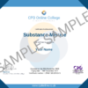Substance Misuse CPD Certificate