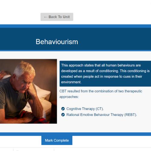 CBT Awareness Unit Slide