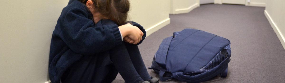 Girl in classroom - safeguarding risk