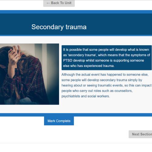 PTSD Awareness Unit Slide