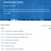 Warehouse Safety Course Overview