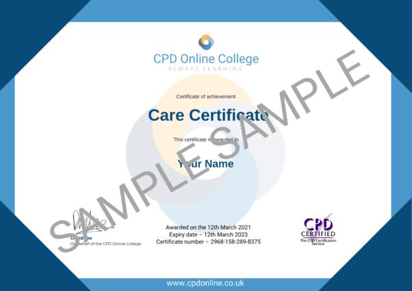 Care Certificate PDF