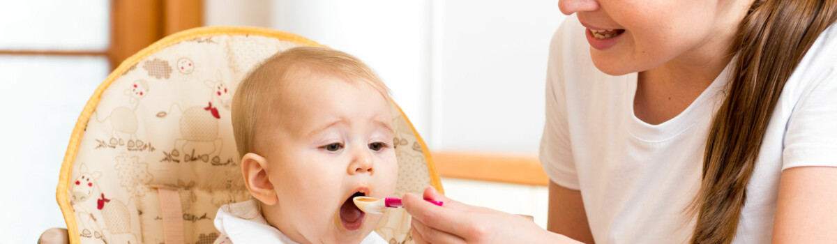 Childminder Feeding Child And Meeting Food Hygiene Requirements