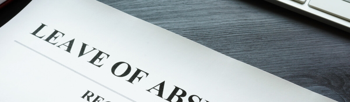Showing A Leave Of Absense From An Employee That Is Missing Their Disciplinary Hearing