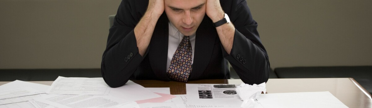 Manager sat with unmanageable workload