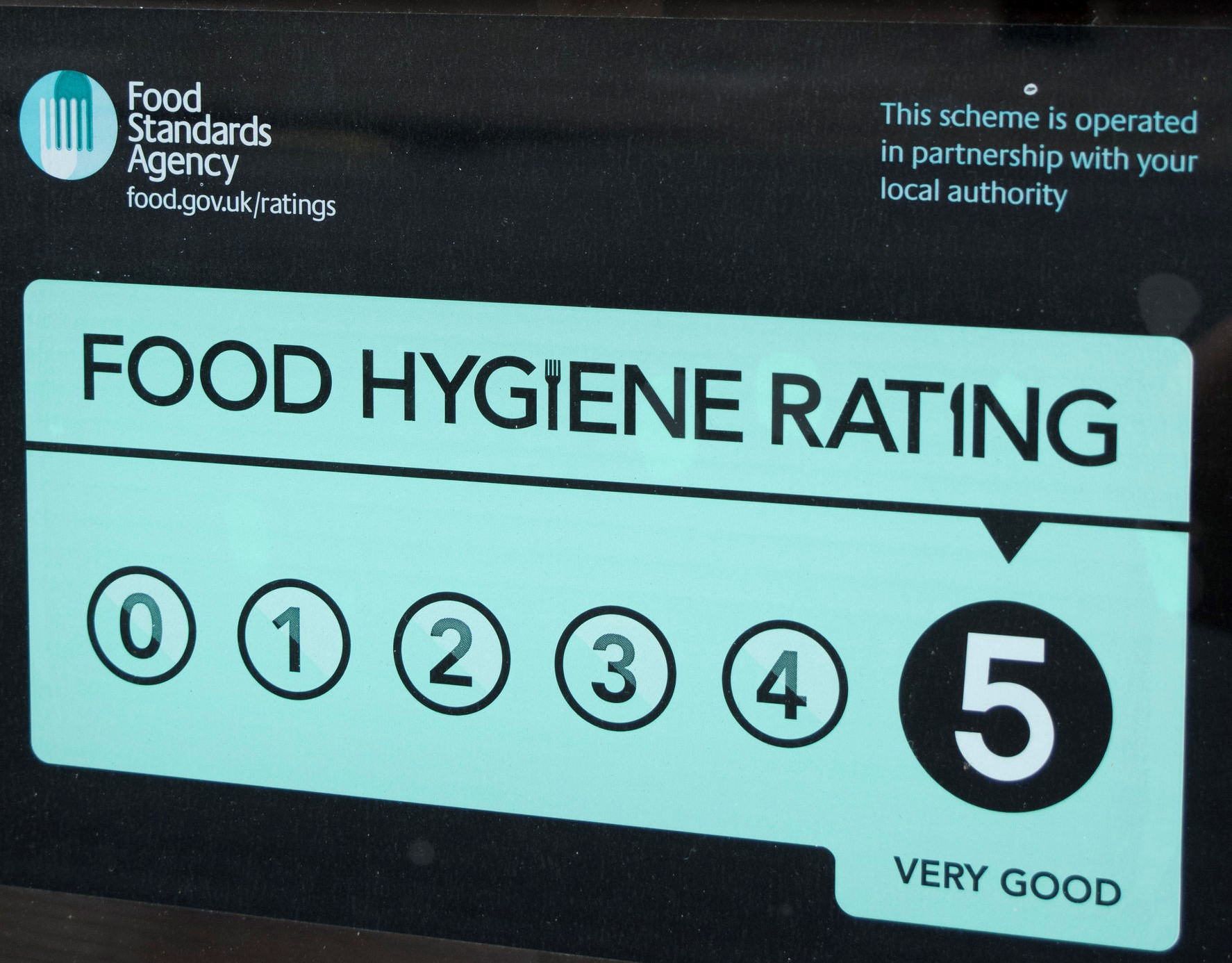 All about the food hygiene rating scheme