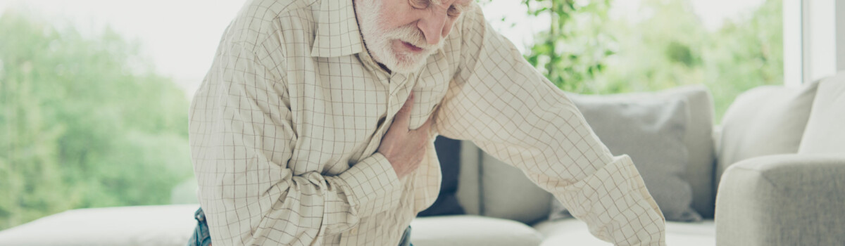 Elderly Man Showing Signs Of Loneliness And Isolation.