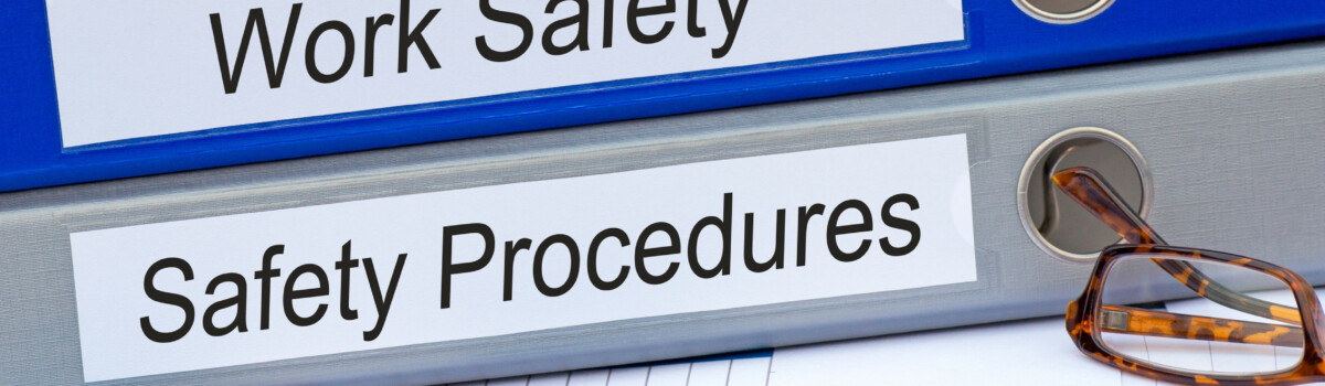 Files For Work Safety And Safety Procedures And Regulations To Follow When Carrying Out An Effective Risk Assessment