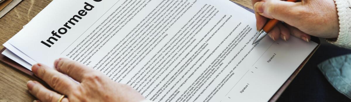 GDPR Informed Consent Form