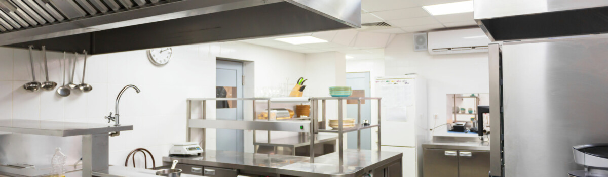 Hospitality industrial kitchen