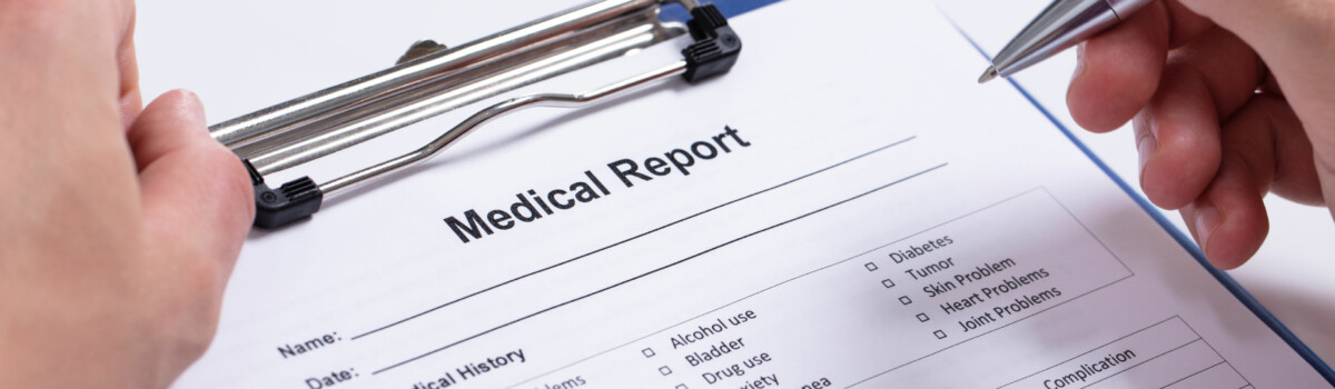 Medical Form That Could Mean They Are Unable To Do Their Job Properly
