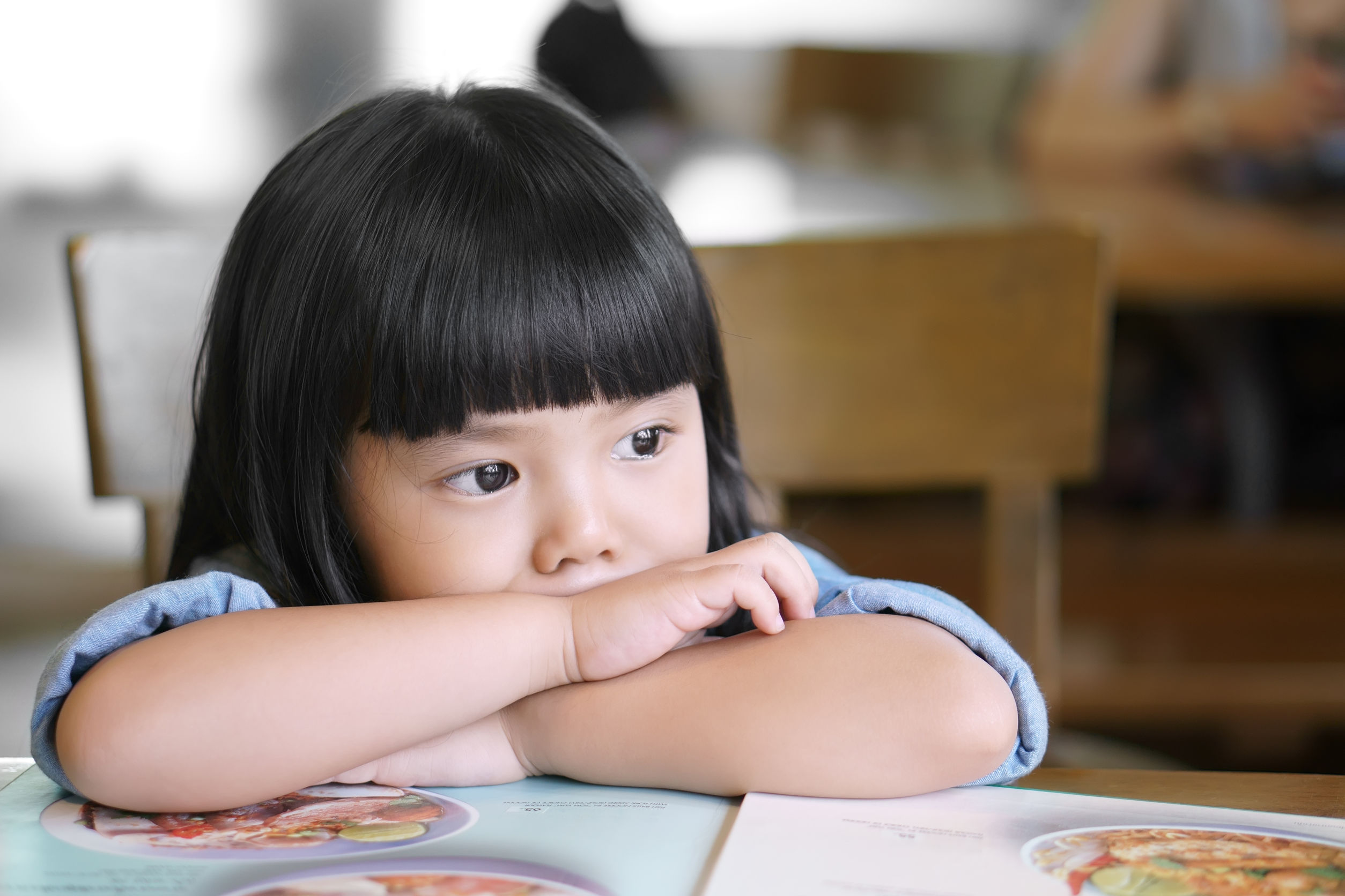 Child Suffering From Mental Health