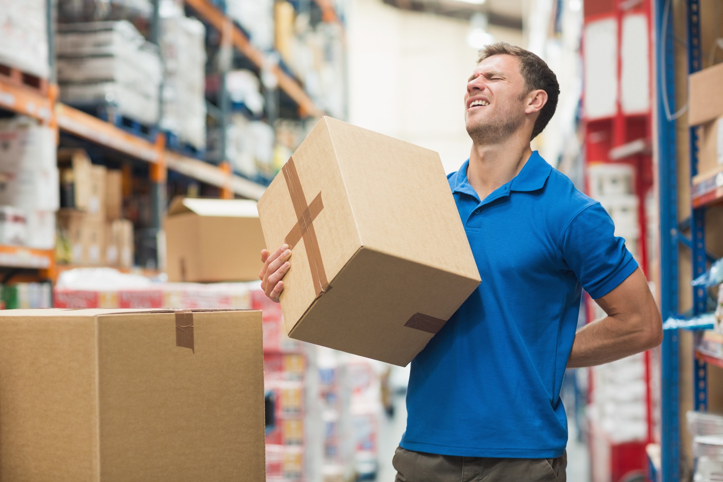 What are the consequences of poor manual handling