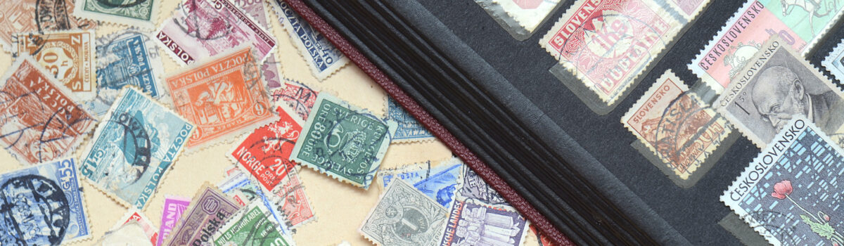 Stamps are something that people collect