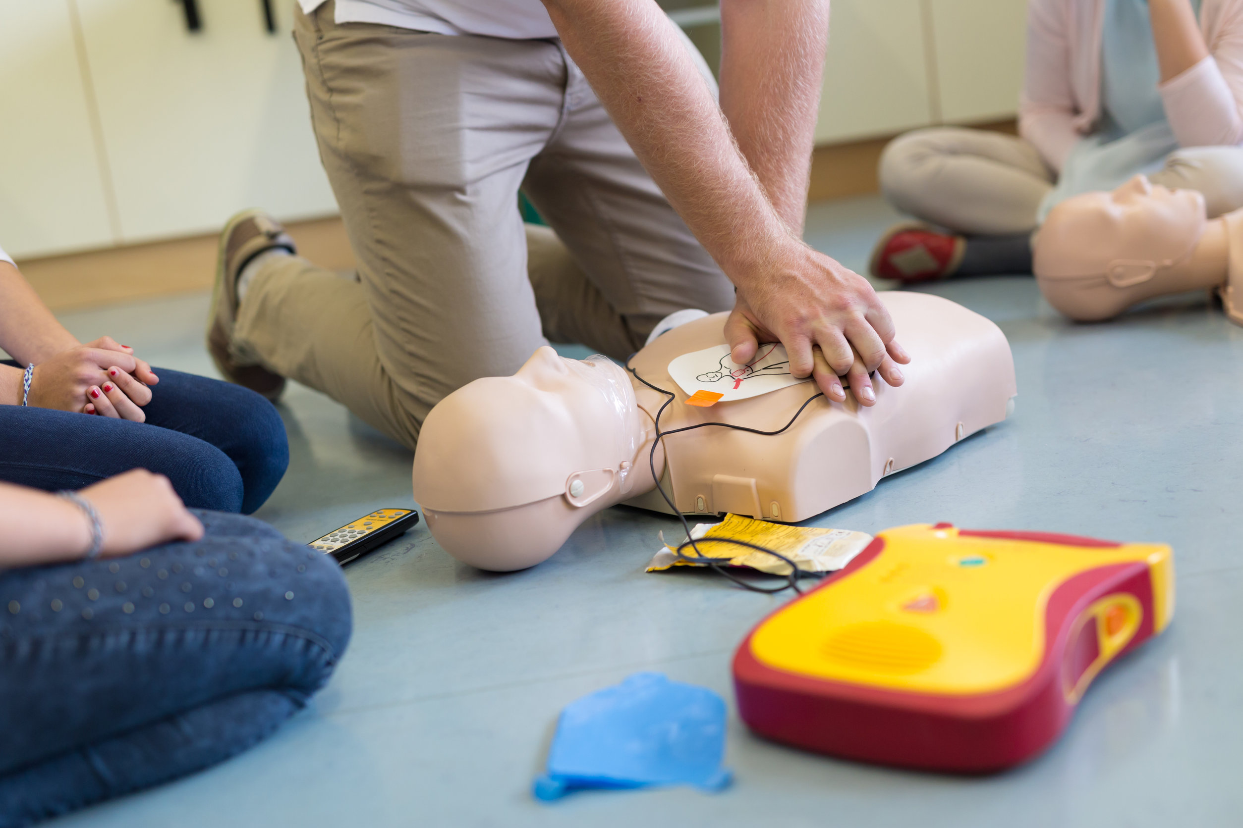 First aid in schools