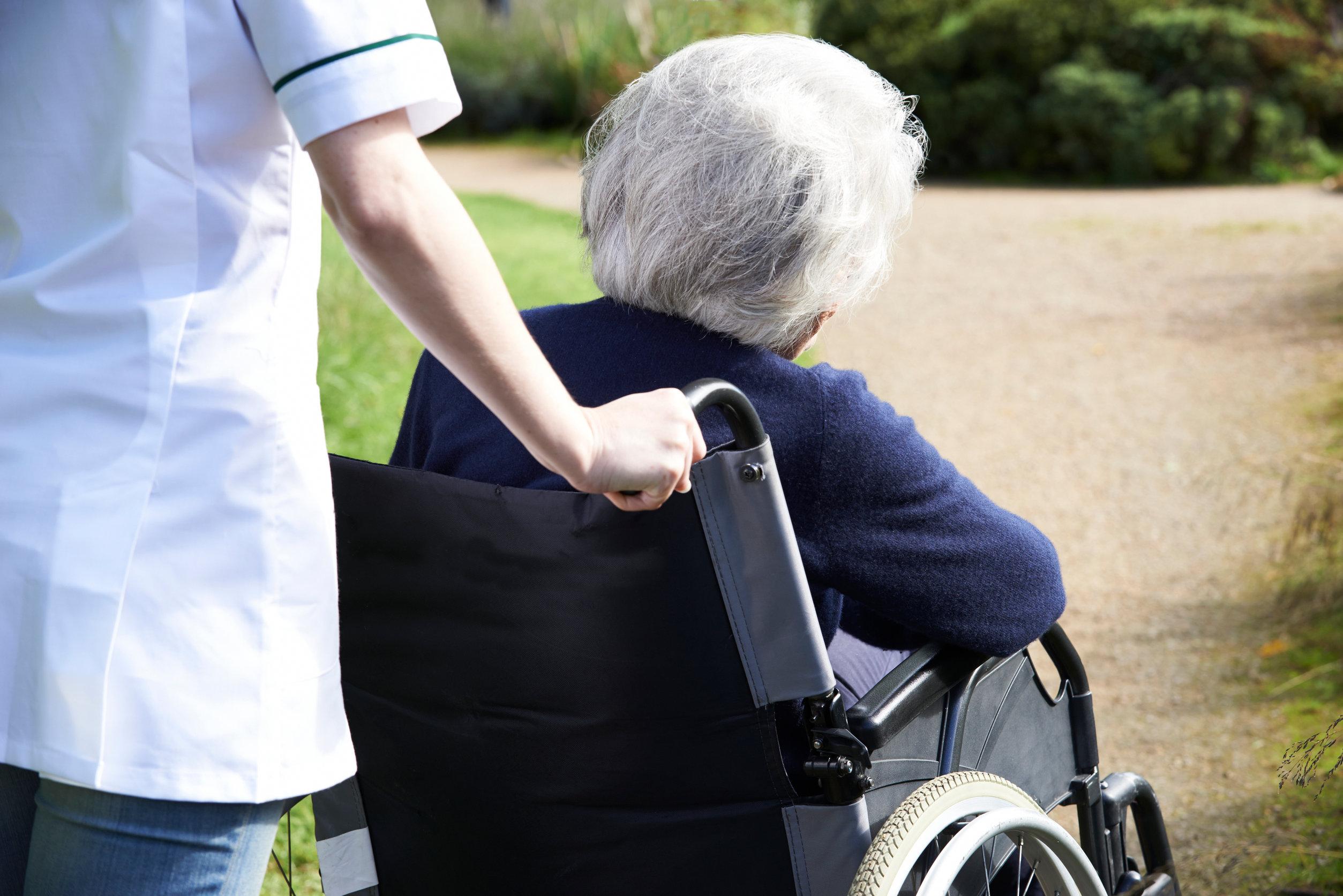 Manual handling in care homes