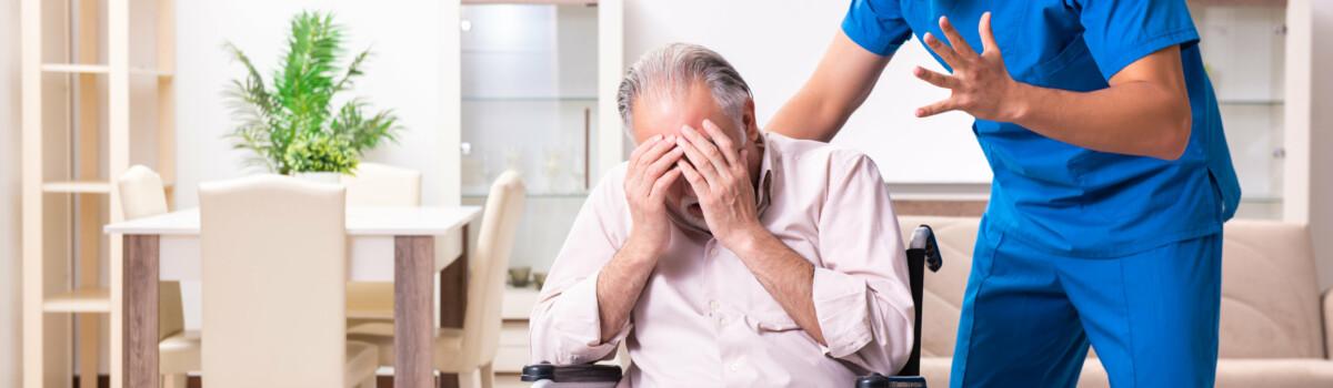 Poor communication between carer and patient