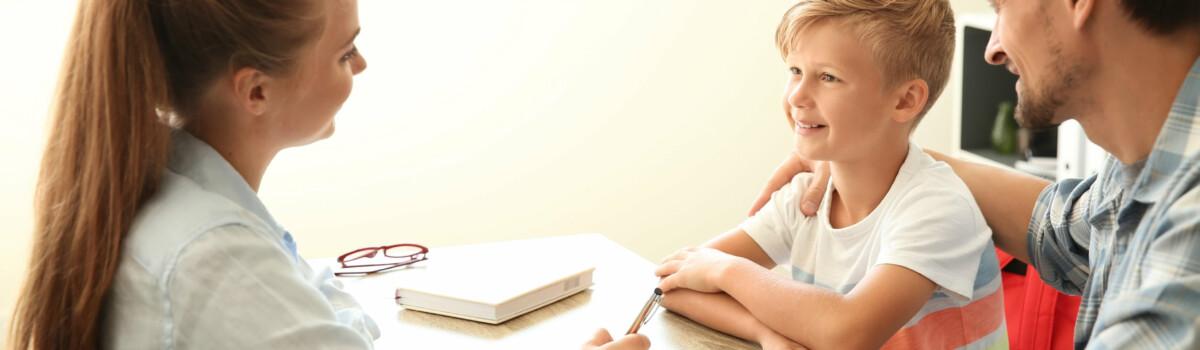 Safeguarding in schools involves parents meeting teachers