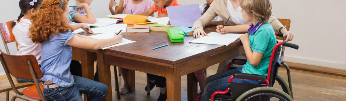 Teacher helping children too much is non-inclusive practise